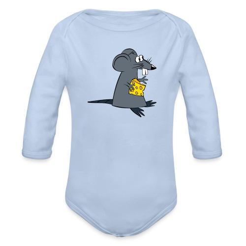 ratte - Baby Bio-Langarm-Body