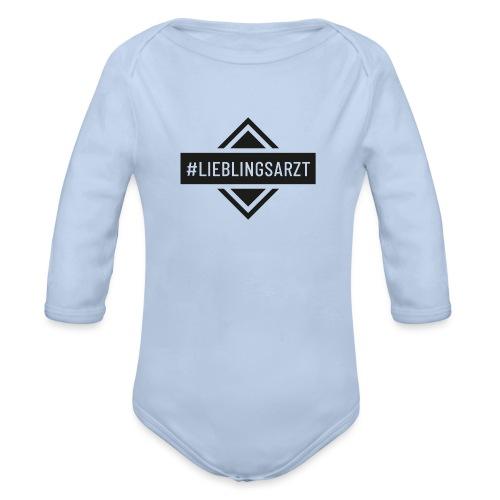 Lieblingsarzt (DR13) - Baby Bio-Langarm-Body