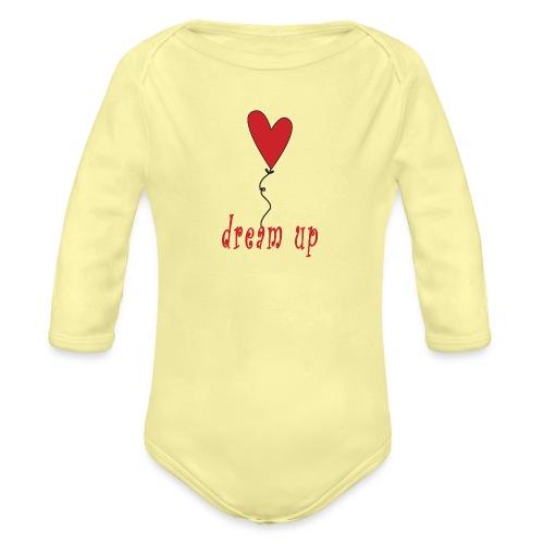 dream up - Body ecologico per neonato a manica lunga