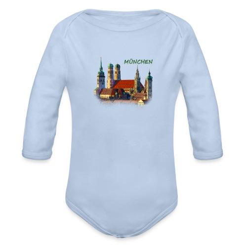 München Frauenkirche - Baby Bio-Langarm-Body