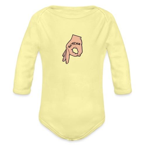 The Circle Game Gotcha - Organic Longsleeve Baby Bodysuit