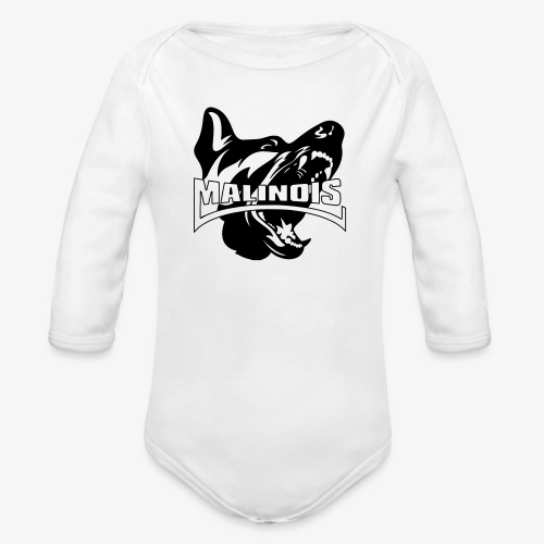 malinois - Body Bébé bio manches longues