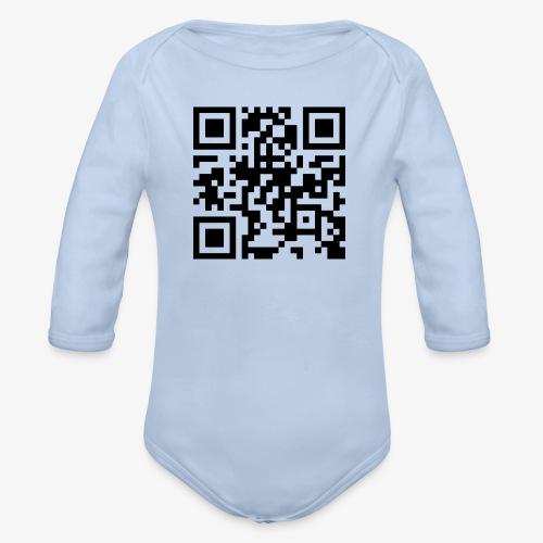 QR Code - Organic Longsleeve Baby Bodysuit