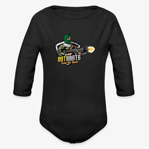 OutKasts [OKT] Logo 1 - Organic Longsleeve Baby Bodysuit