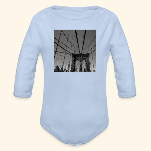 Ragnatela a New York - Body ecologico per neonato a manica lunga