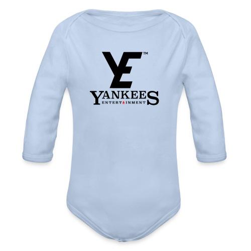 ye black - Organic Longsleeve Baby Bodysuit