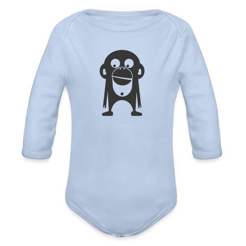 Der Bamberger Affe - Baby Bio-Langarm-Body