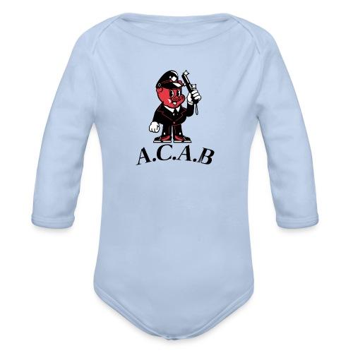 A.C.A.B cochon - Body Bébé bio manches longues