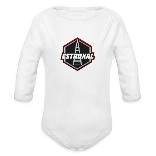 Estroxal - Logo - Vauvan pitkähihainen luomu-body