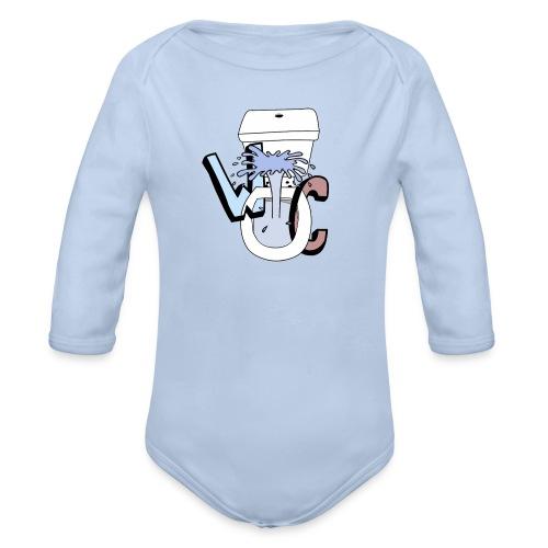 WekelijkseContent Sweater - Baby bio-rompertje met lange mouwen