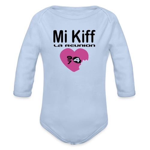 Mi Kiff la reunion - Body Bébé bio manches longues