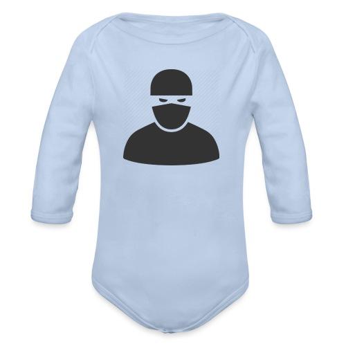 Ninja - Organic Longsleeve Baby Bodysuit