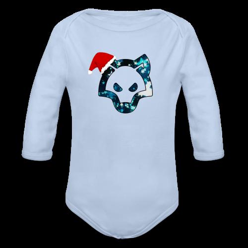 FyRox in Weihnachten - Baby Bio-Langarm-Body