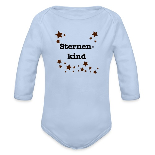 Sternenkind - Baby Bio-Langarm-Body