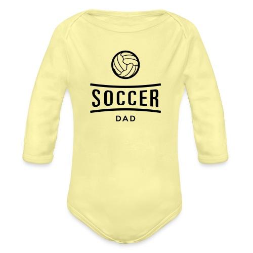 soccer dad - Body Bébé bio manches longues