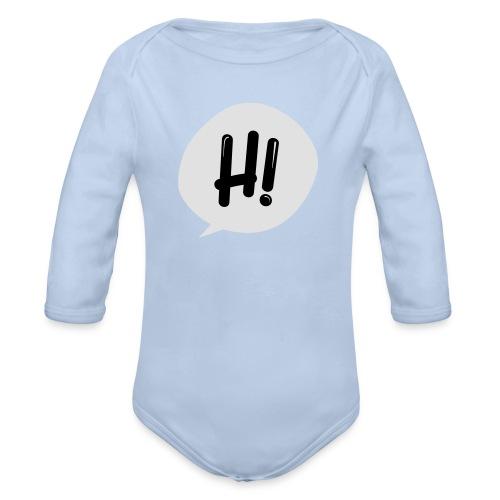 Hinimation studio - Body ecologico per neonato a manica lunga