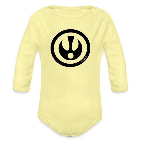 FITTICS SHIELD Red - Organic Longsleeve Baby Bodysuit
