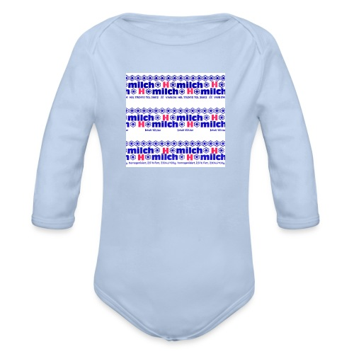 H-Milch - Baby Bio-Langarm-Body