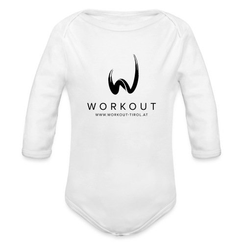 Workout mit Url - Baby Bio-Langarm-Body