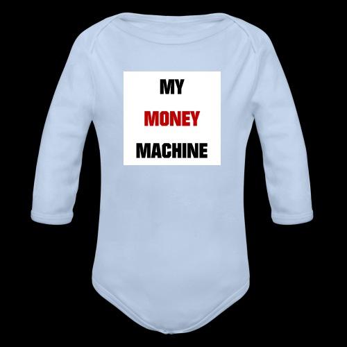 MY MONEY MACHINE - Baby Bio-Langarm-Body