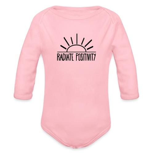 Radiate Positivity - Organic Longsleeve Baby Bodysuit