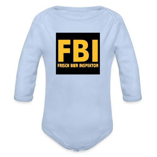 FBI - Baby Bio-Langarm-Body