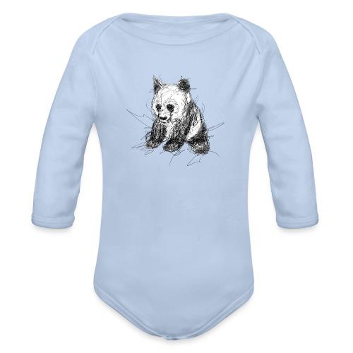 Scribblepanda - Organic Longsleeve Baby Bodysuit