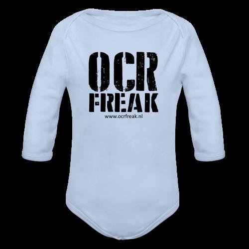OCR Freak - Baby bio-rompertje met lange mouwen