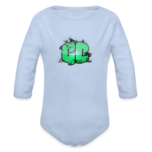 Herre T-shirt - GC Logo - Langærmet babybody, økologisk bomuld