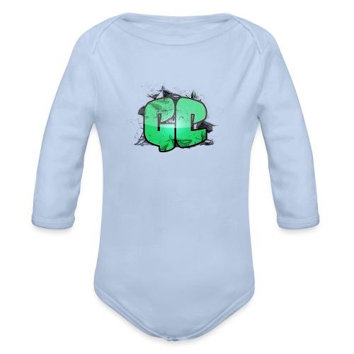 Bamse - GC Logo - Langærmet babybody, økologisk bomuld