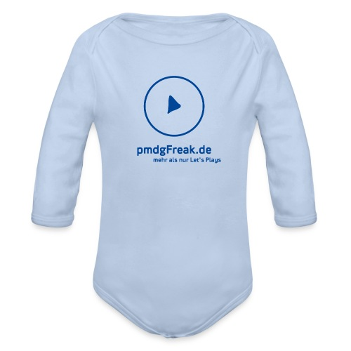 Der Blaue - Baby Bio-Langarm-Body