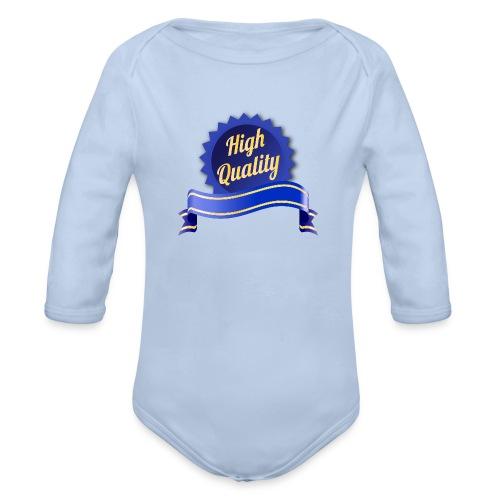 High Quality - Baby Bio-Langarm-Body