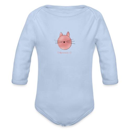 Katze [Meowww!] - Baby Bio-Langarm-Body