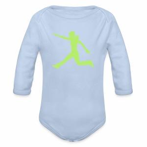 Kraft und Takt - Baby Bio-Langarm-Body
