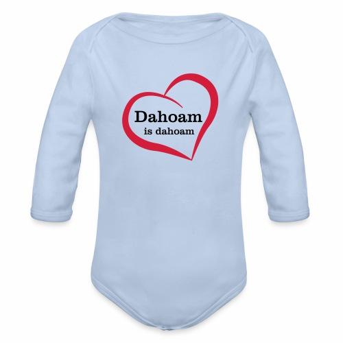 Dahoam is dahoam - Baby Bio-Langarm-Body