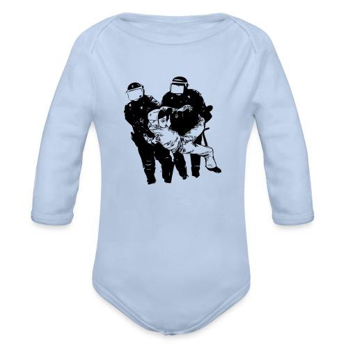 ABUSO POLICIAL - Body orgánico de manga larga para bebé