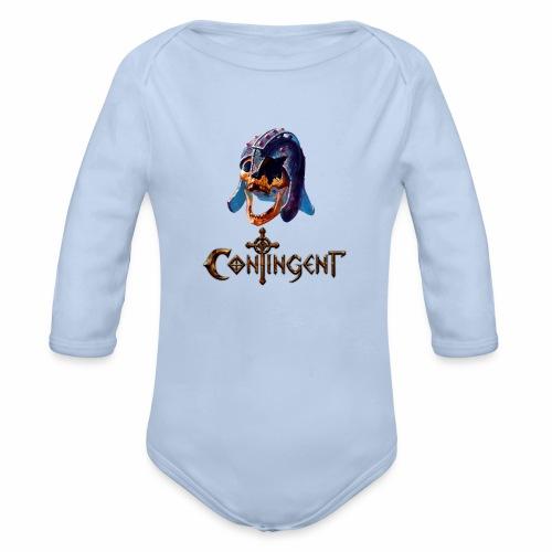 Contignent Logo - Organic Longsleeve Baby Bodysuit