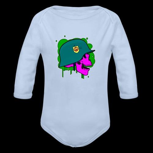 CGA-Battalion-2 - Organic Longsleeve Baby Bodysuit
