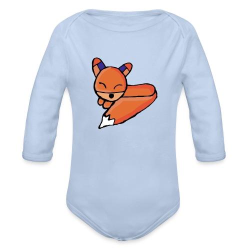 Edo le renard - Body Bébé bio manches longues