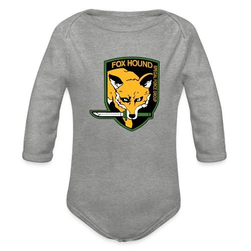 Fox Hound Special Forces - Vauvan pitkähihainen luomu-body