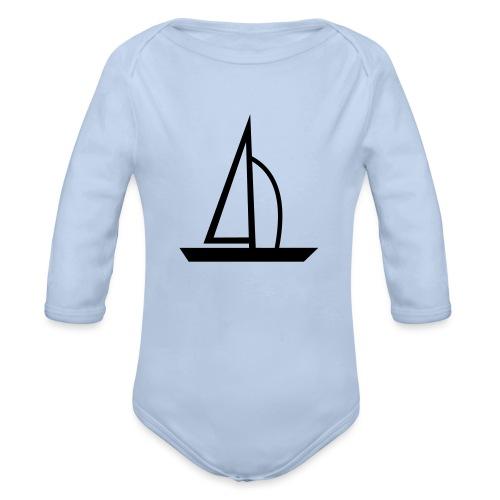 Segelboot - Baby Bio-Langarm-Body