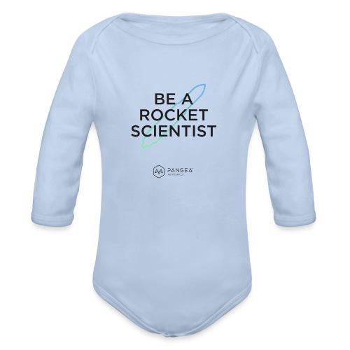 It's Rocket Science - Organic Longsleeve Baby Bodysuit