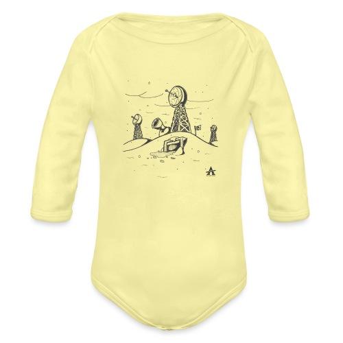 ligne de base arctique croquis - Body Bébé bio manches longues