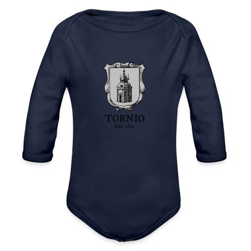Tornio Est 1621 - Vauvan pitkähihainen luomu-body
