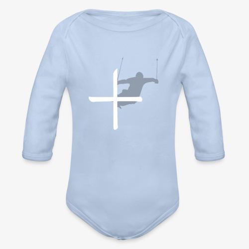Ski Switzerland - Organic Longsleeve Baby Bodysuit