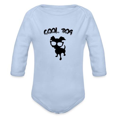 COOL DOG - 2 - Body ecologico per neonato a manica lunga