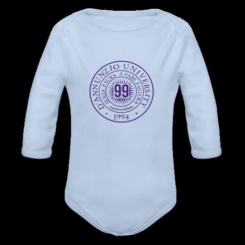 99 COSSE LOGO - Body ecologico per neonato a manica lunga