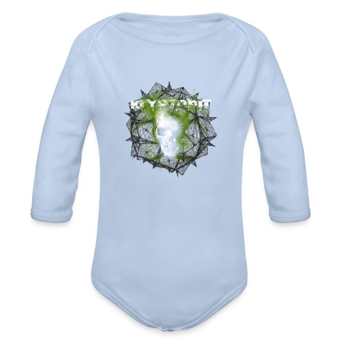 Kryptonit2 - Baby Bio-Langarm-Body