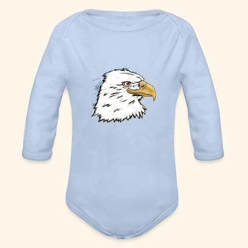 Aguila Emperador Kutuxa - Body orgánico de manga larga para bebé