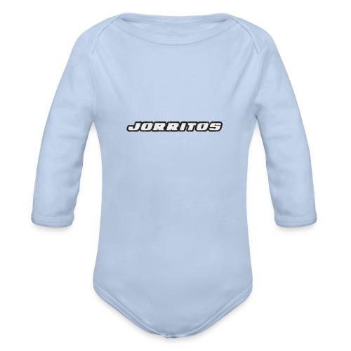 Logo Jorritos - Baby bio-rompertje met lange mouwen